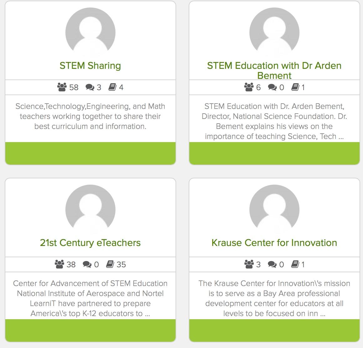STEMgroups